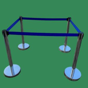 Belt Post (Blue) | Stanchions | Belt Stanchions | Barrier Stanchions | Q Manager | Queue Manager | Crowd Manager