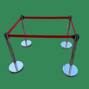Belt Post (Red) | Stanchions | Belt Stanchions | Barrier Stanchions | Q Manager | Queue Manager | Crowd Manager